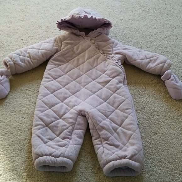 94b5a58e8 Small Wonders One Pieces | Baby Girl 6m9m Quilted Snow Suit | Poshmark